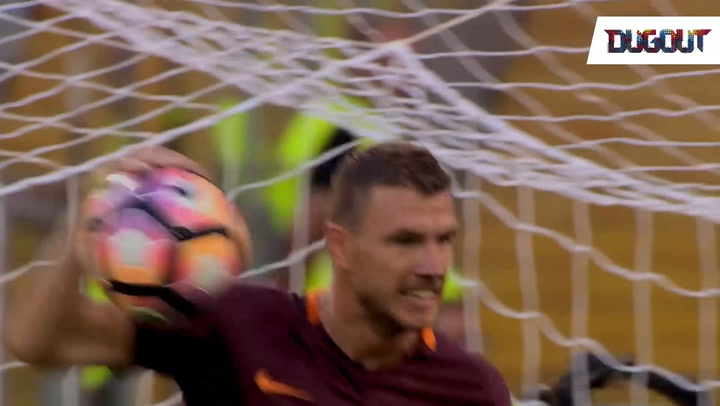 Every Serie A goal scored by Dzeko this season