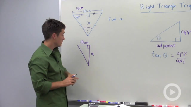 Trigonometric Ratios: Tangent - Problem 3