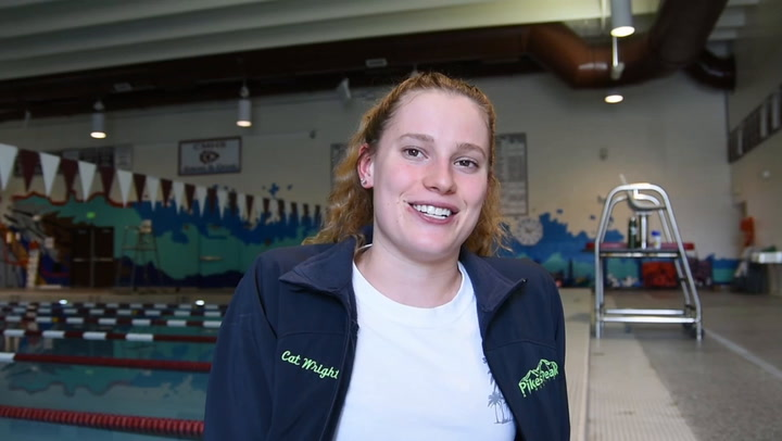 Cat Wright, Girls' Swimming/ Diving Peak Performer of the Year