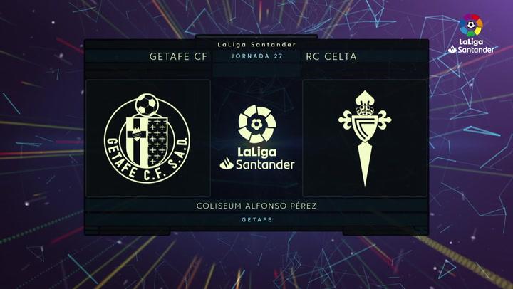 LaLiga (J27): Resumen del Getafe 0-0 Celta