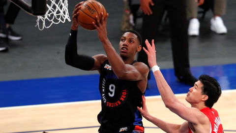 How good can RJ Barrett be for the Knicks?
