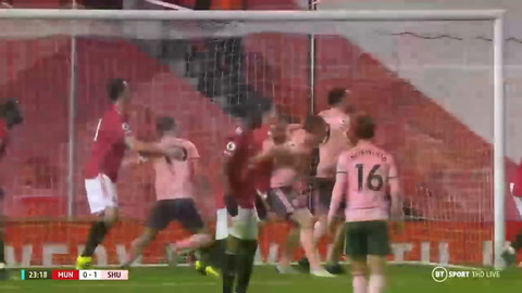 Manchester United 1-2 Sheffield United (Premier League)