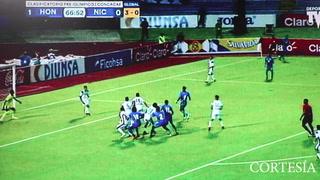 Cabezazo de Kervin Arriaga y la H abre el marcador ante Nicaragua
