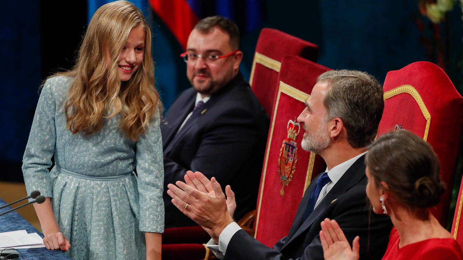 El primer discurso de Leonor en los Premios Princesa de Asturias