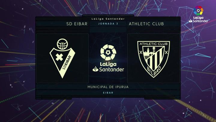 LaLiga Santander (Jornada 3): Eibar 1-2 Athletic