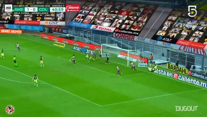 Ochoa's impressive save vs Chivas