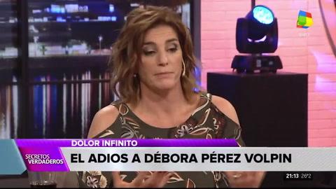 La segunda parte del homenaje a Débora Pérez Volpin en Secretos Verdaderos