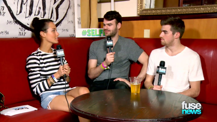 Shows: Fuse News: The Chainsmokers Consider Youngblood Hawke, American Authors Collabos
