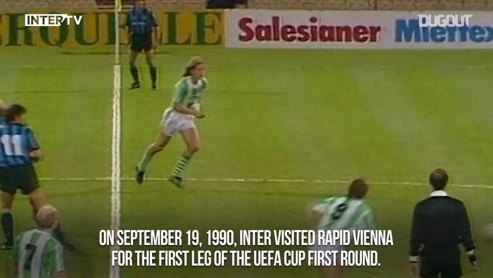 European Nights: When Inter Sneaked Past Rapid