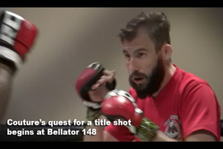 Ryan Couture's quest for title shot begins at Bellator 148