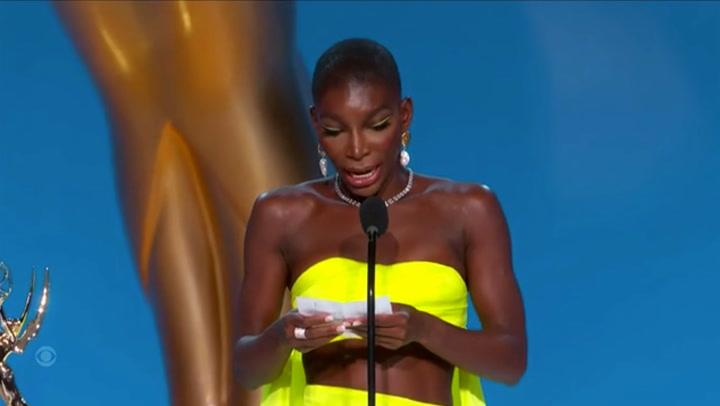 Emmys 2021: Michaela Coel dedicates win to all survivors of sexual assault