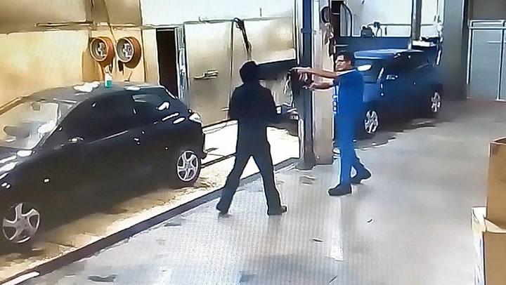 Raneren prøvde seg på feil offer