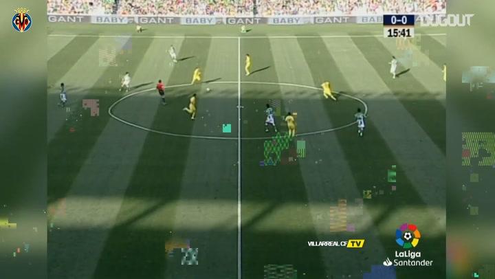 Marcos Senna's halfway line goal vs Real Betis