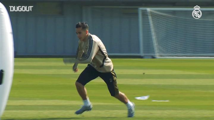 Real Madrid continue to prepare for El Clásico