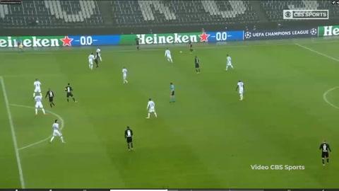 Borussia Mönchengladbach 2-3Inter de Milán