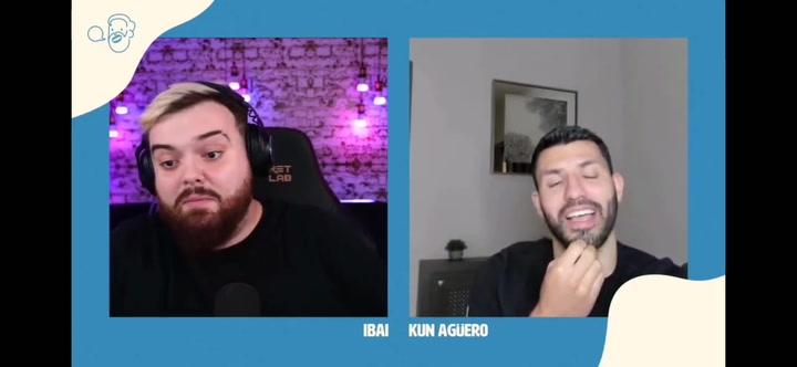 Kun Agüero a Ibai: