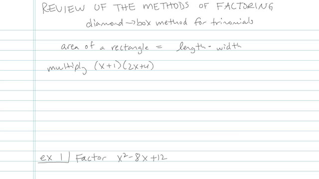 Review of the Methods of Factoring - Problem 13