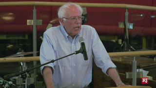 Bernie Sanders speaks in Las Vegas on schools, healthcare and minimum wage – Video
