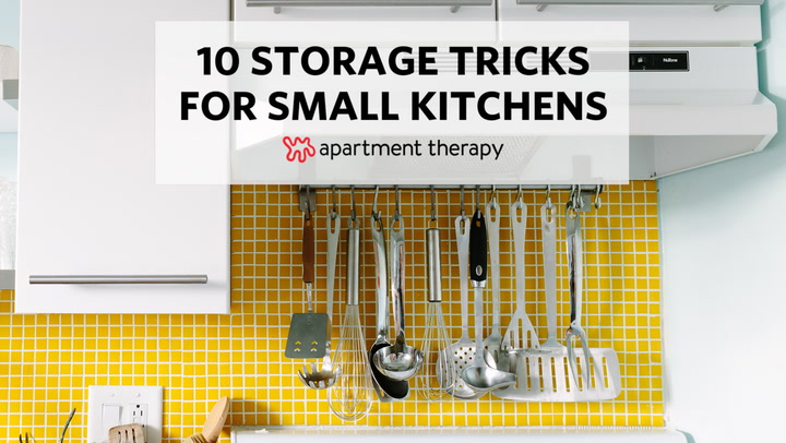 20 Ways To Squeeze A Little Extra Storage Out Of Small Kitchen Apartment Therapy