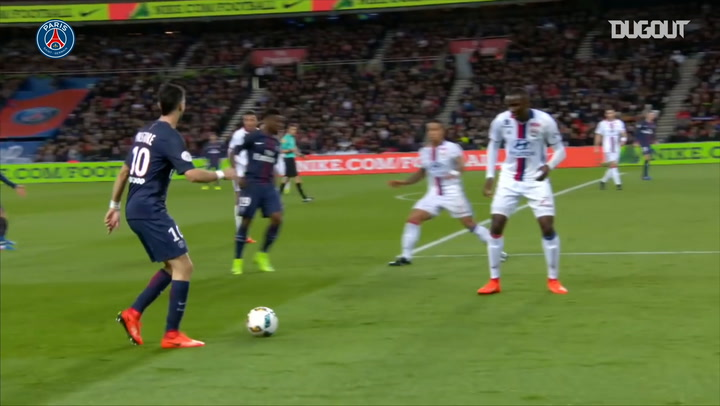 Adrien Rabiot finishes an amazing team effort against Lyon in 2017