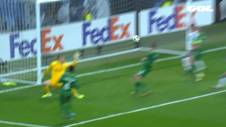 Europa League Espanyol-Ludogorets. Gol de Pedrosa (5-0)
