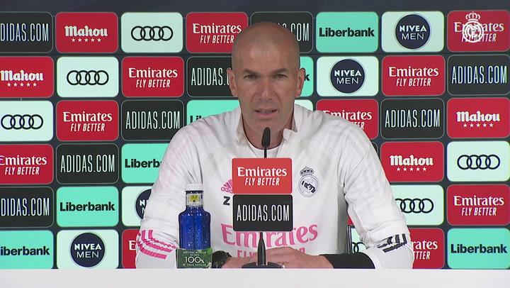 """Zidane: """"Nadie tiene la culpa de la lesión de Sergio Ramos"""""""