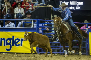 NFR Day 8 With Tyler Milligan