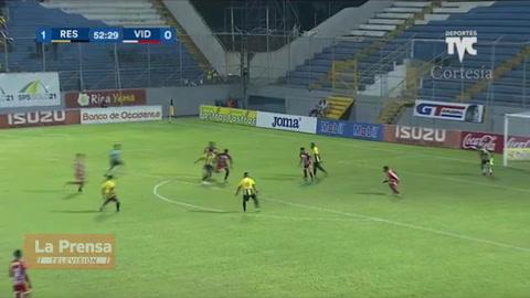 Real España 1-0 Vida (Liga Nacional)