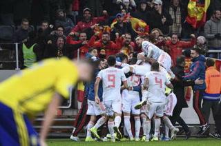 España sella su pase a la Eurocopa 2020 tras empatar contra Suecia