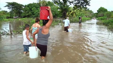 Aumentan a 14 muertos por lluvias en Nicaragua