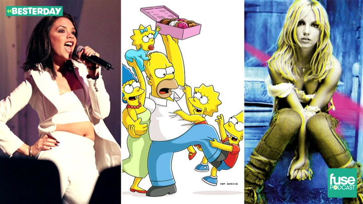 Britney Spears' Britney, Spice Girls Debut and The Simpsons: Besterday Podcast