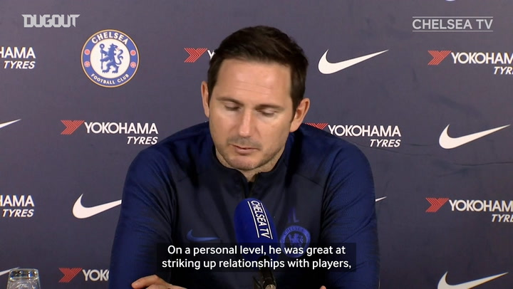Frank Lampard on his 'great' relationship with Carlo Ancelotti