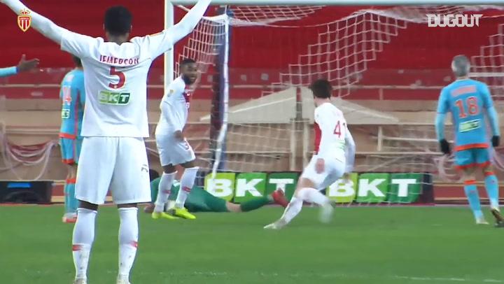 Monaco's top five goals vs Lorient