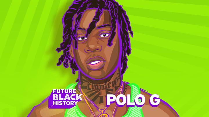 Future Black History Honors Polo G!
