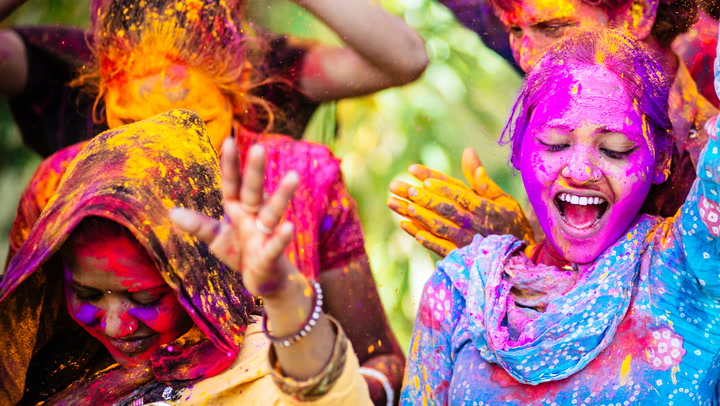 Color Festival 2020.Watch Now How To Celebrate Holi Festival In India