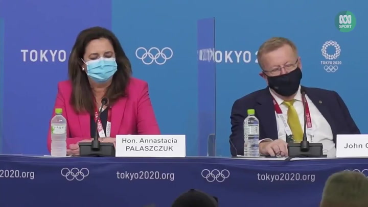 Olympics official accused of 'mansplaining' opening ceremony to female state head