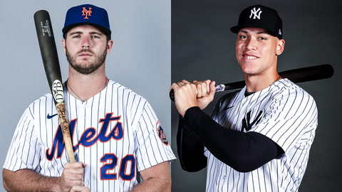 What are the odds that Pete Alonso or Aaron Judge win the home run title?