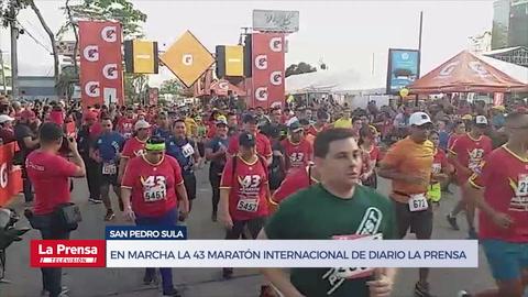 En marcha la 43 Maratón Internacional de Diario LA PRENSA