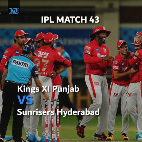 IPL 2020 Wrap: KXIP beat SRH by 12 runs; KKR win by 59 runs against DC