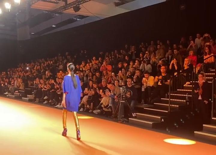 Alejandra Rubio debuta en la 'Fashion Week' de Madrid