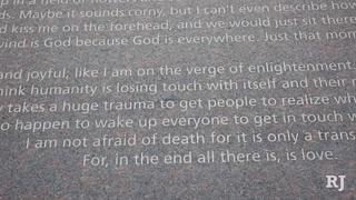 Columbine Memorial Provides Comfort, Hope