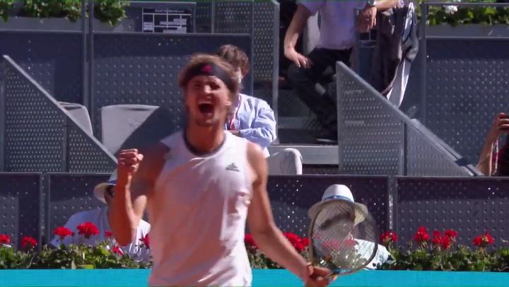 Zverev elimina a Rafa Nadal del Mutua Madrid Open