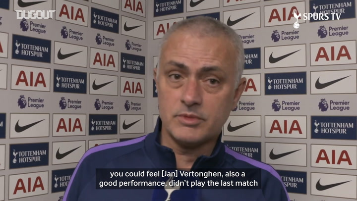 Mourinho: 'Our attacking players are heroes'