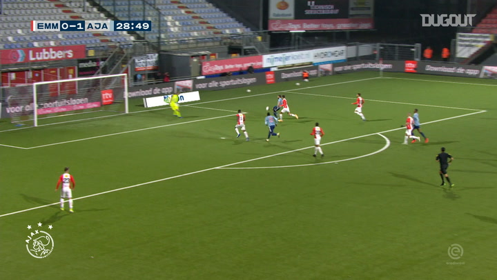 Klaassen's pinpoint assist for Labyad vs FC Emmen