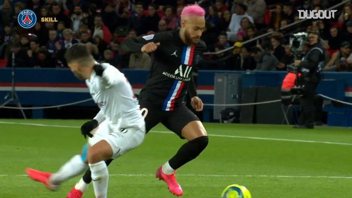 Neymar Jr's amazing skill vs Montpellier
