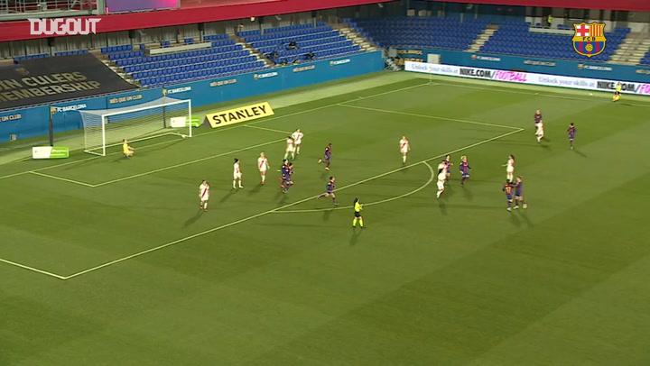 El increíble gol de Mapi León ante el Rayo Vallecano