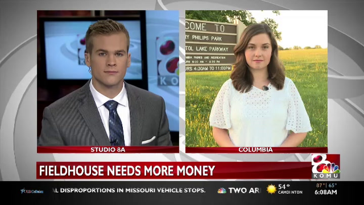 City allocates more money to Columbia field house