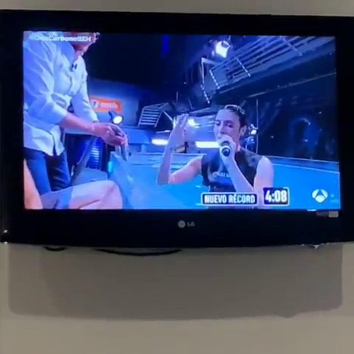 Pilar Rubio le dedica su reto a Sergio Ramos