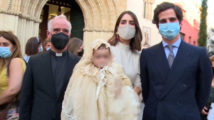 Matilde Solís y Sofía Palazuelo desvelan todos los detalles del bautizo de Rosario Fitz-James Stuart
