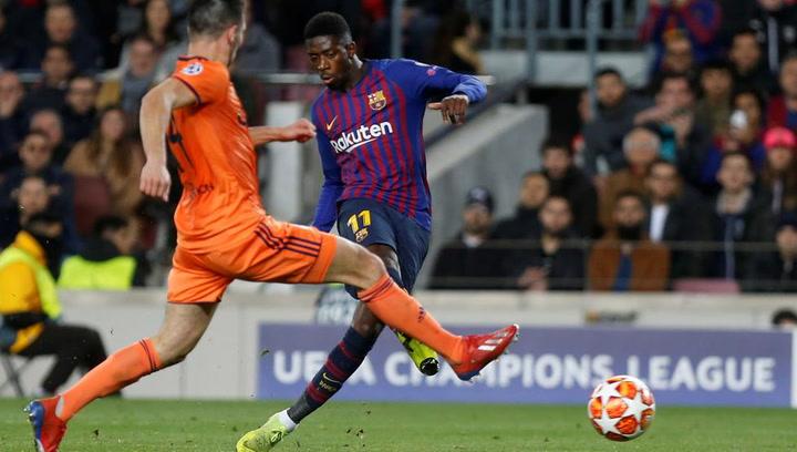 Dembélé reaparece un mes después pensando en el United
